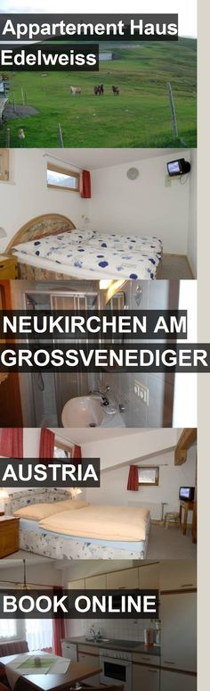 Hotel Appartement Haus Edelweiss in Neukirchen am Grossvenediger, Austria. For more information, photos, reviews and best prices please follow the link. #Austria #NeukirchenamGrossvenediger #travel #vacation #hotel