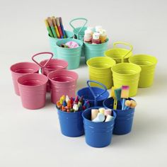 I Could've Bin a Container (Art Caddy). art caddy for Statler's supplies, he can bring them to table to use.