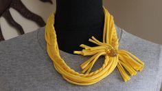 Most Popular Yellow Infinity Scarf by KariLynnsKumfortshop on Etsy