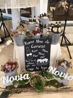 Barra Libre #wedding #ideasbodas #decowedding#bodaschic #bodasvintage #inspiraciobodas #bodasbonitas
