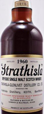 Strathisla 50 year old Scotch Whisky - Single Malt Scotch Whisky - Label Details