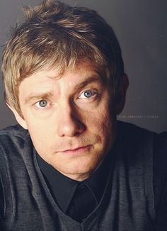 Handsome Martin -- eyes like the ocean changing from dark to light to murky to bright