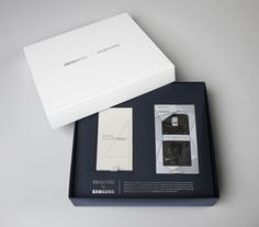 """Read more: https://www.luerzersarchive.com/en/magazine/print-detail/58750.html Packaging for the """"Swarovski for Samsung"""" collection. Tags: Leigh Sander,Vincent Lopresti,John Graziano,Jim Bowling,Kevin  Sutton"""