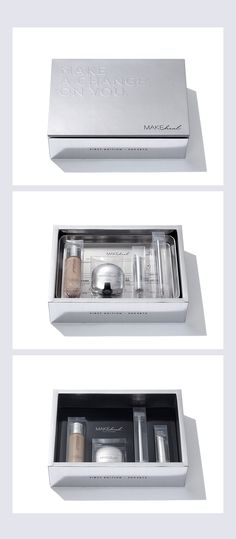 Makeheal Presskit on Behance Skincare Packaging, Perfume Packaging, Cosmetic Packaging, Beauty Packaging, Print Packaging, Box Packaging, Packaging Design, Branding Design, Adobe Indesign