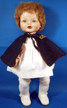 Purty by Uneeda  1961  dressed as VA nurse