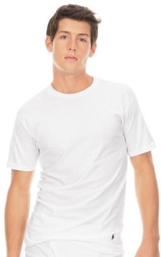 #Ralph Lauren             #Men                      #Polo #Ralph #Lauren #Men's #Underwear, #Classic #Cotton #Crew #Shirts #3-Pack                          Polo Ralph Lauren Men's Underwear, Classic Cotton Crew T Shirts 3-Pack                                  http://www.snaproduct.com/product.aspx?PID=5477450