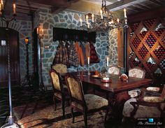 Wine Cellar - Michael Jacksons Neverland Valley Ranch - 5225 Figueroa Mountain Road, Los Olivos, CA