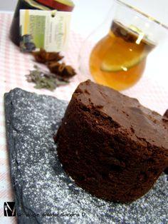 Brownies cioccolato e bacche di mirto