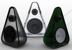Speakers come in all different shapes, think outside the box.