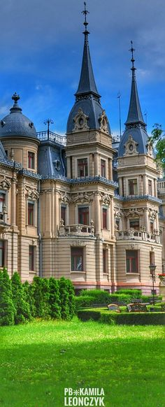 Izrael Poznański's Palaceis a 19th-century palace inŁódź,Poland. Initially atenementbuilding, it was transformed into aNeo-RenaissanceandNeo-baroquestyle residence in years 1888-1903