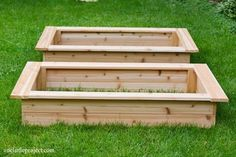 How to make a garden box   onelittleproject.com