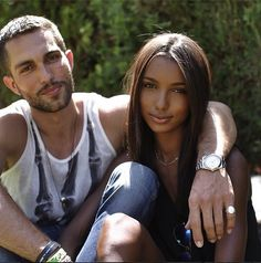 Gorgeous interracial couple -Tobias and Jasmine #love #wmbw #bwwm