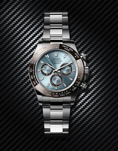 The platinum version of the Cosmograph Daytona features an ice blue dial and a Cerachrom bezel in chestnut brown ceramic. The tachymetric scale's moulded numerals and graduations are coated with plati Rolex Daytona Gold, Rolex Daytona Price, Rolex Daytona 1992, Rolex Daytona Two Tone, Rolex Daytona Ceramic, Rolex Daytona Steel, Rolex Daytona Stainless Steel, Rolex Daytona Paul Newman, Rolex Daytona Watch