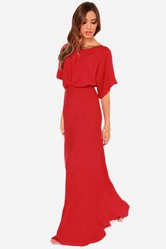 Break Free Beaded Red Maxi Dress at Lulus.com!