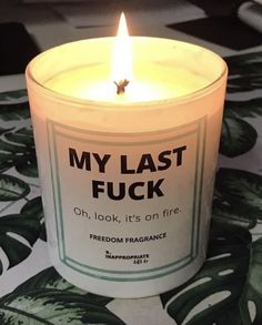 Scented Candles, Candle Jars, Cake Day, Candle Magic, My Last, Lol So True, Novelty Gifts, Reaction Pictures, Cool Gifts