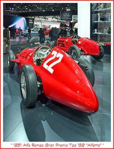 """1951 Alfa Romeo Gran Premio Tipo 159 """"Alfetta"""""""