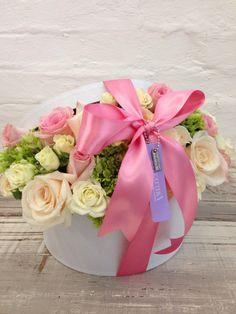 Box flower arregment   Arreglo floral en Cajas