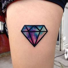 Nebula Space Diamond Tattoo