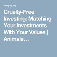 Cruelty-Free Investi