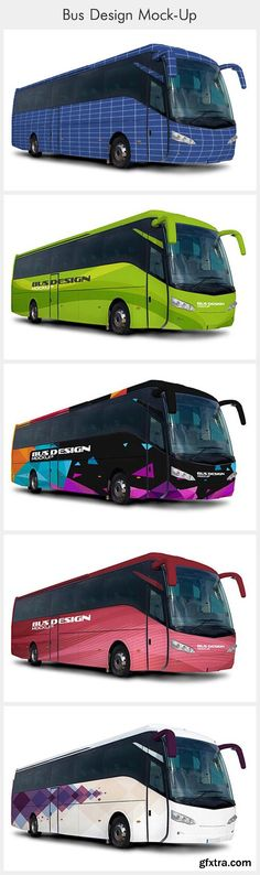 Bus Design Mockup Psd