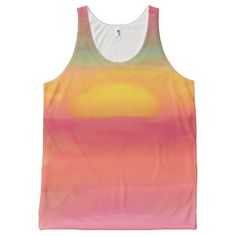 Sunset All-Over Print Tank Top
