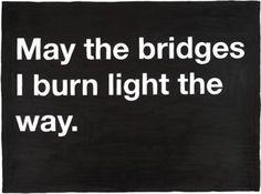 Burning Bridges  http://www.recruitingblogs.com/profiles/blogs/burning-bridges