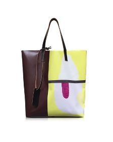 Lemmon Jack Davidson Print PVC Shoppingtasche - Marni