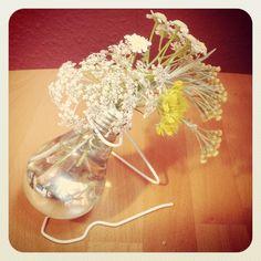 Glühbirnenvase / Light bulb vase / Upcycling