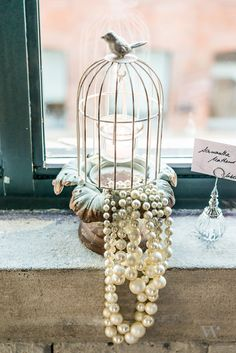 Small Metal Birdcage With Suspended Tealight Holder Wedding Table Decor in Candles & Candle Holders Bird Cage Centerpiece, Pearl Centerpiece, Candle Centerpieces, Wedding Table Centerpieces, Diy Wedding Decorations, Centerpiece Flowers, Centerpiece Ideas, Wedding Ideas, Birdcage Centerpiece Wedding