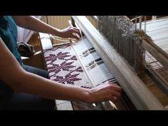 Reaktywacja tkaniny ludowej - warsztat tkaniny wybieranej (perebory / peretyki)  stebnówka w splocie
