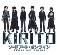 I am so glad that kirito didn't have to stick with his first avatar because he looks so much cooler as himself