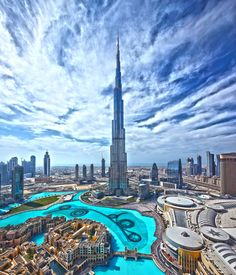 Burj Khalifa Holder Of World Records