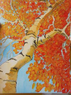 Art is From the Heart: Fall Paintings