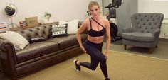 Best Way To Build Glutes Without Weights: Paige Hathaway of F45 demonstrates