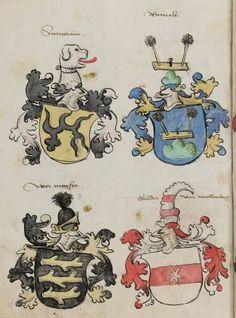 Wappenbuch des St. Galler Abtes Ulrich Rösch Heidelberg 15. Jahrhundert Cod. Sang. 1084 Folio 333