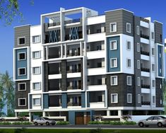 Architecture Building Design, Architecture Visualization, Building Facade, Residential Architecture, Duplex Design, Bungalow House Design, Apartment Design, Modern House Design, Town House Floor Plan