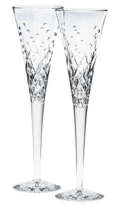 Waterford Happy Celebrations Crystal Flute Glasses, Set of 2 by Waterford, http://www.amazon.com/dp/B000DZQSOE/ref=cm_sw_r_pi_dp_rojfqb02NF0AE