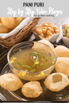 PANI PURI RECIPES ( The crispy puri with fillings and hot flavoured water will leave a sensational burst of flavour in your mouth. This is an ideal Mumbai street food. Gobi Recipes, Curry Recipes, Snack Recipes, Cooking Recipes, Vegan Recipes, Pani Puri Recipe, Chaat Recipe, Mumbai Street Food, Indian Street Food