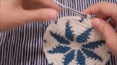 Step-by-Step Snowflake Tapestry Crochet Base - Part 1