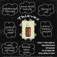 thieves essential oil #aromaterapi