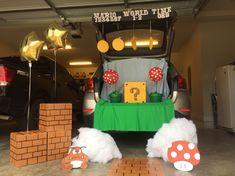 Super Mario Bros Trunk Or Treat 2015