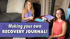 Creating your own recovery journal with Molly! Journal Topics, Journal Prompts, Recovery, Create Your Own, Scrapbook, Quotes, How To Make, Quotations, Scrapbooks