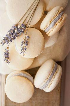 macarons et lavande