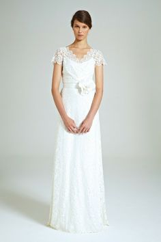 French Lily Lace Gown