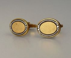 Vintage Foster Gold Plated Cufflinks by jujubee1 on Etsy