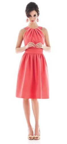 Beautiful Pink Bridesmaid Dress