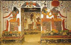 Tomb of Nefertari, Tomb 66 in the Valley of the Queens, Egypt
