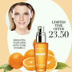 Unbeatable OFFER! Brighten your skin with our Anew Vitamin C Brightening Serum. ONLY $23.50!Offer ends: March 8, 2017