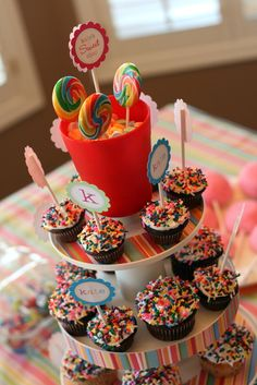Sprinkles make everything a little sweeter. #party #treats