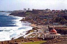 View of San Juan from El Morro